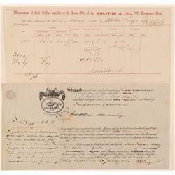 California Gold Rush Documents (2)  (100404)