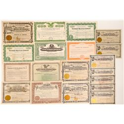 California Oil Company Stock Collection  (103572)