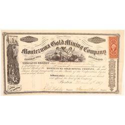 Montezuma Gold Mining Company  (104732)