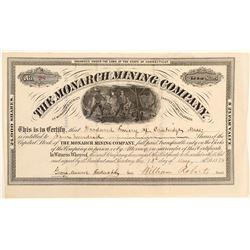Monarch Mining Company Stock Certificate  (91851)