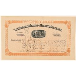Hyland Mining & Milling Company Stock Certificate   (91745)