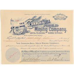 Cannonball Gold Mining Company  (104775)