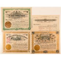 Four Self-Identified Cripple Creek Mining Stocks  (91607)