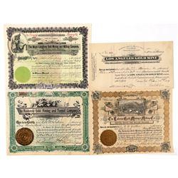 Four Self-Identified Cripple Creek Mining Stocks  (91757)