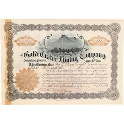 Gold Crater Mining Co.  (104774)