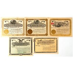Likely Cripple Creek Mining Stock Certificates  (91784)