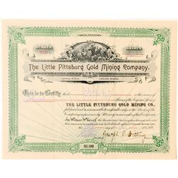 Little Pittsburg Gold Mining Co. Stock Certificate  (91561)