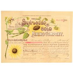 Sunflower Gold Mining Company  (104778)