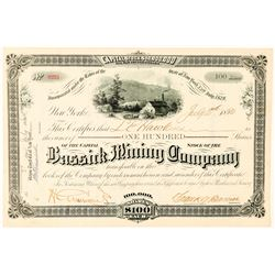 Bassick Mining Company Stock Certificate  (91557)