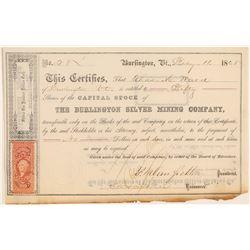 Burlington Silver Mining Company (104735)