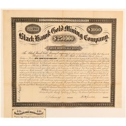 Black Hawk Gold Mining Company Bond  (91816)