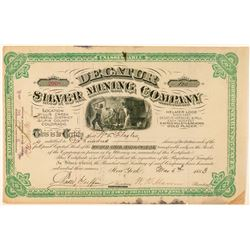 Decatur Silver Mining Company Stock Certificate  (100940)