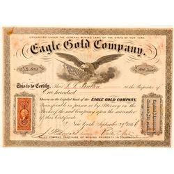 Eagle Gold Company Stock Certificate  (91874)