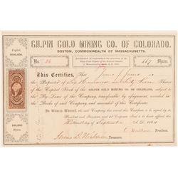 Gilpin Gold Mining Company of Colorado  (104700)