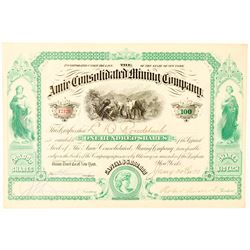 Amie Consolidated Mining Company Stock Certificate  (91559)