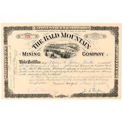 Bald Mountain Mining Company Stock Certificate  (91578)