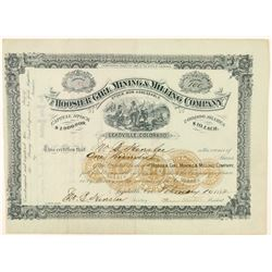 Hoosier Girl Mining & Milling Co. Stock Certificate  (91737)