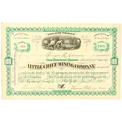 Little Chief Mining Company Stock Certificate  (91562)