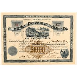 North Star Consolidated Mining Co. Stock Certificate  (91805)