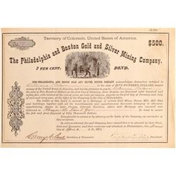 Philadelphia and Boston Gand Silver MC  (104753)