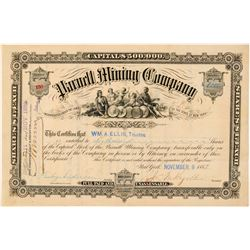Parnell Mining Company Stock Certificate  (101480)