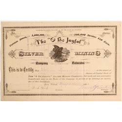 """""""O Be Joyful"""" Silver Mining Company  (104763)"""