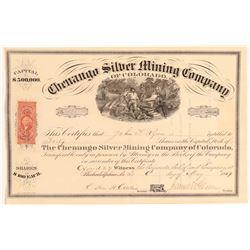 Chenango Silver MIning Company of Colorado  (104738)