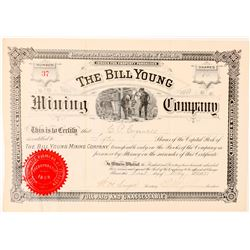 Bill Young Mining Company Stock Certificate  (91560)