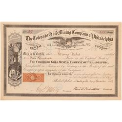 Colorado Gold Mining Company of Philadelphia  (104713)