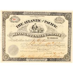 Atlantic & Pacific Mining & Tunnel Co. Stock Certificate  (91576)