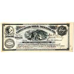 Farncomb Hill Mining Co. Stock Certificate  (91790)