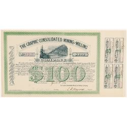Graphic Consolidated Mining & Milling Co. Bond  (91824)