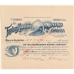 Taylor Mountain Mining Company  (104793)
