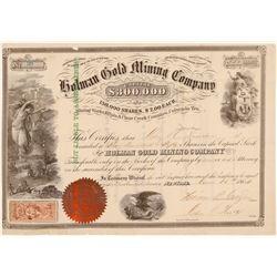 Holman Gold Mining Company  (104701)