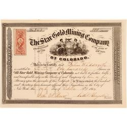 Star Gold Mining Company of Colorado  (104709)
