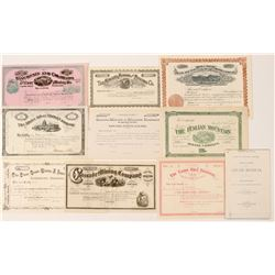 Unissued Colorado Mining Stock Collection  (91614)
