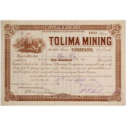Tolima Mining Company Stock  (81610)