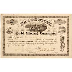 Nacoochee Gold Mining Company Stock  (81960)