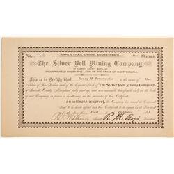 Silver Bell Mining Company of Garrett County Stock  (81976)