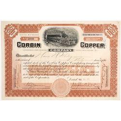 Corbin Copper Co. Stock  (82132)