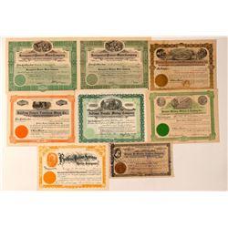 Bullfrog / Pioneer Mining Stock Certificates  (101631)