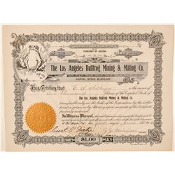 Los Angeles Bullfrog Mining & Milling Co. Stock Certificate  (101583)