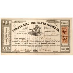 Buckeye Gold and Silver MIning Company Stock  (91898)