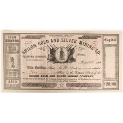 Shiloh Gold and Silver Mining Company Stock  (91895)