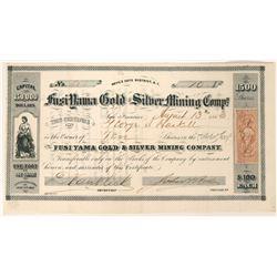 Fusiyama Gold & Silver Mining Company Stock  (91929)
