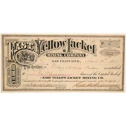 East Yellow Jacket Mining Company Stock  (91962)