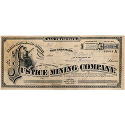 Justice Mining Company Stock  (91943)