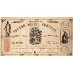 Sharon Mining Company Stock  (91922)