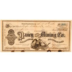 Daney Gold & Silver Mining Co. Stock Certificate  (91861)