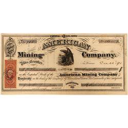 American Mining Company Stock  (91944)